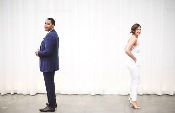 Modern Two Part Wedding With A Stylish Jumpsuit – Bri Johnson Photography 3