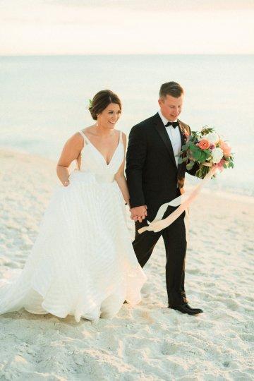 Preppy and Nautical Boathouse Wedding – Elleson Events – Trenholm Photo 47