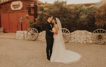 Rustic & Romantic Cinco De Mayo Ranch Wedding