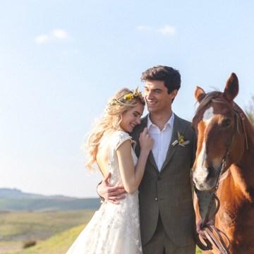 Rustic and Romatic Italian Wedding Inspiration From Tuscany – Tiziana Gallo 11