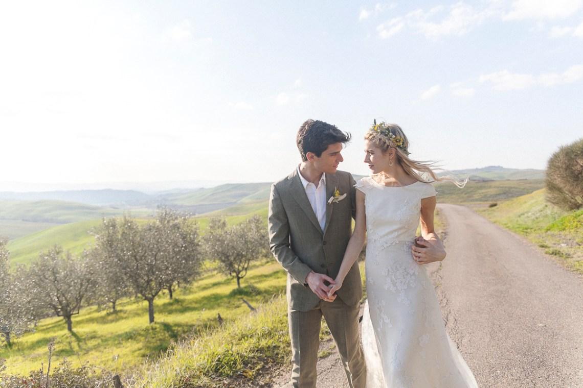 Rustic and Romatic Italian Wedding Inspiration From Tuscany – Tiziana Gallo 12