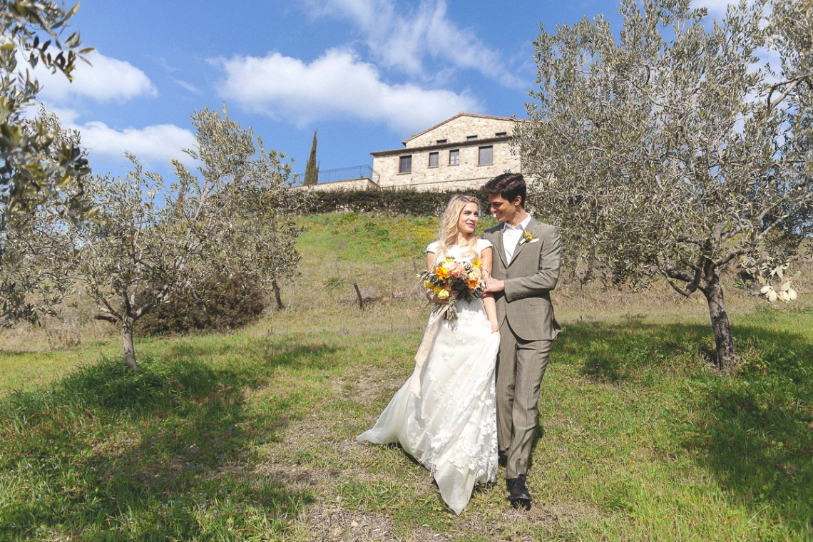 Rustic and Romatic Italian Wedding Inspiration From Tuscany – Tiziana Gallo 6