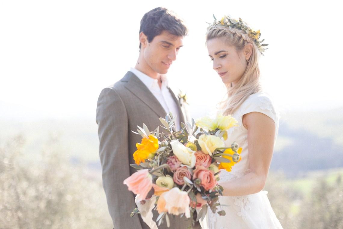Rustic and Romatic Italian Wedding Inspiration From Tuscany – Tiziana Gallo 9