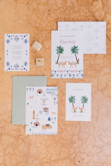 Stunning and Fashionable Moroccan Riad Wedding Inspiration – Studio Phylicia 15