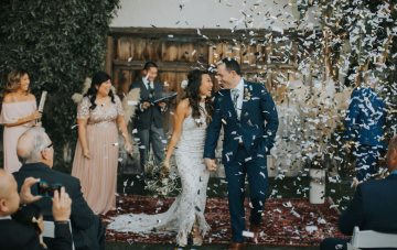 Stylish & Laid-Back Palm Springs Wedding