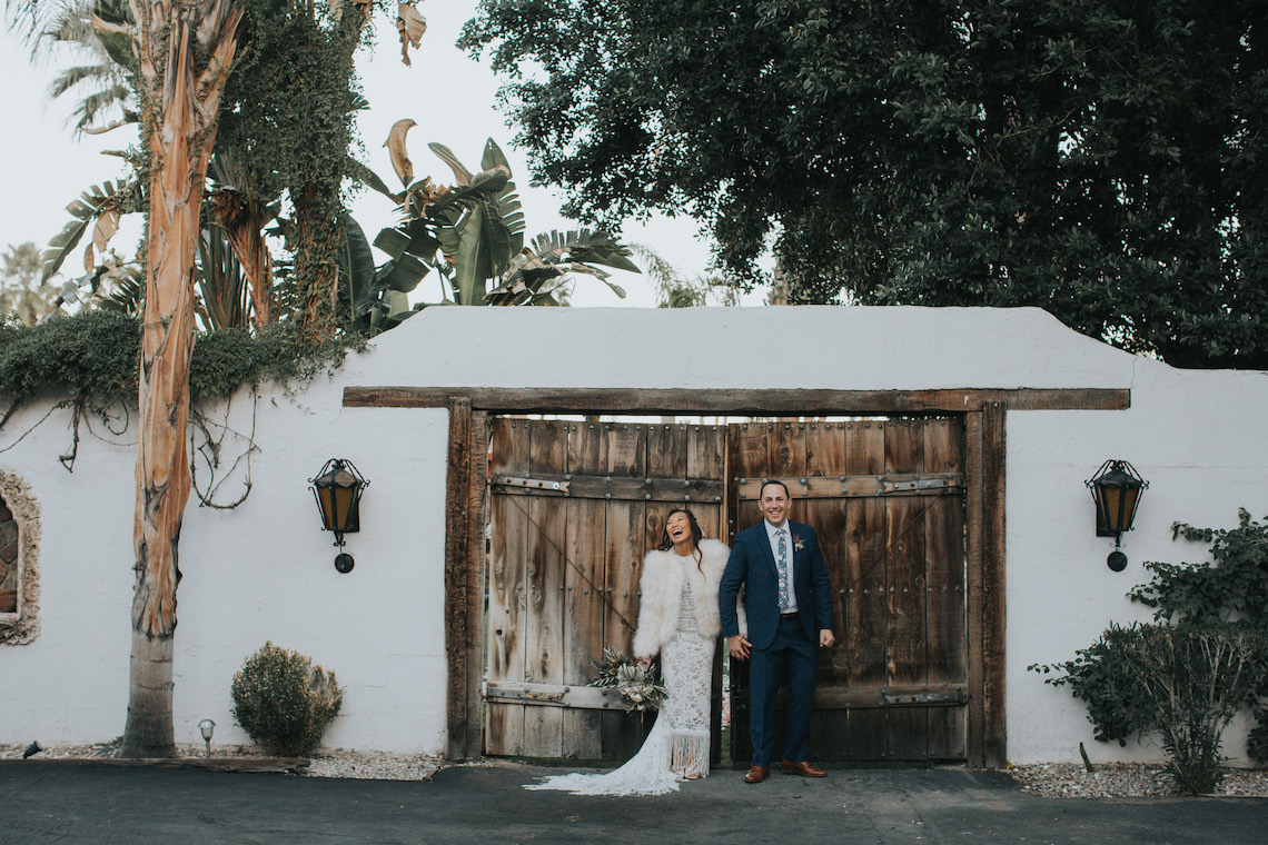 Stylish and Wildly Fun Palm Springs Wedding – The McFarlands 7