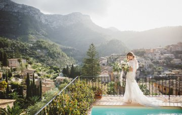 The Dreamiest Mallorca Mountain Bridal Inspiration