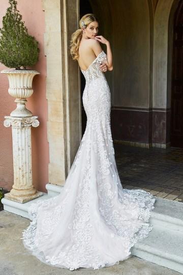 10 Stunning Wedding Dresses By Destination – Val Stefani Amalfi Dress 2