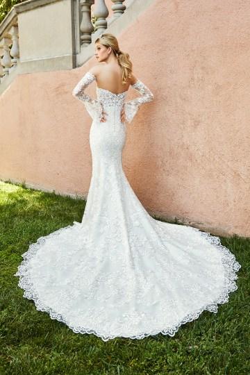 10 Stunning Wedding Dresses By Destination – Val Stefani Capri Dress 3
