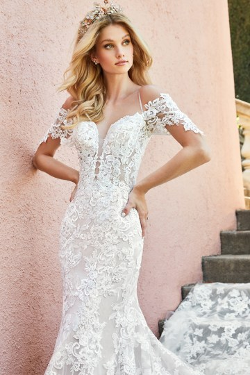 10 Stunning Wedding Dresses By Destination – Val Stefani Edita Dress 1