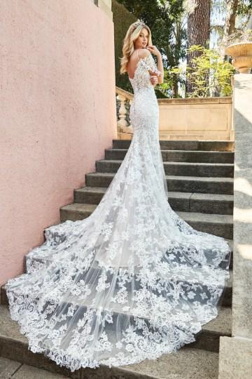 10 Stunning Wedding Dresses By Destination – Val Stefani Edita Dress 3