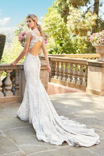 10 Stunning Wedding Dresses By Destination – Val Stefani Emilia Dress 1