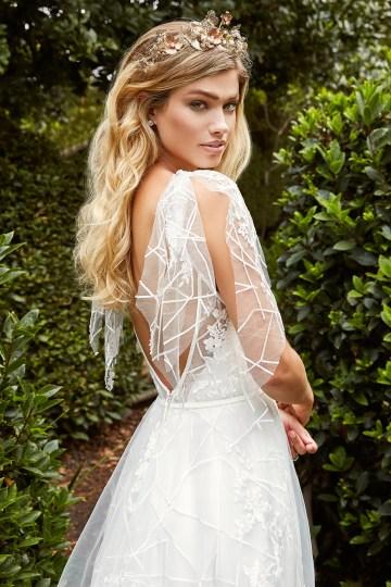 10 Stunning Wedding Dresses By Destination – Val Stefani Everest Dress 1
