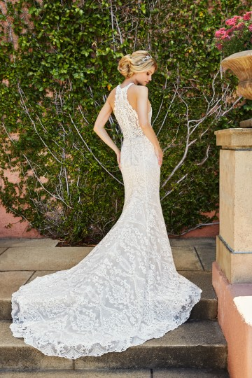 10 Stunning Wedding Dresses By Destination – Val Stefani Savona Dress 3