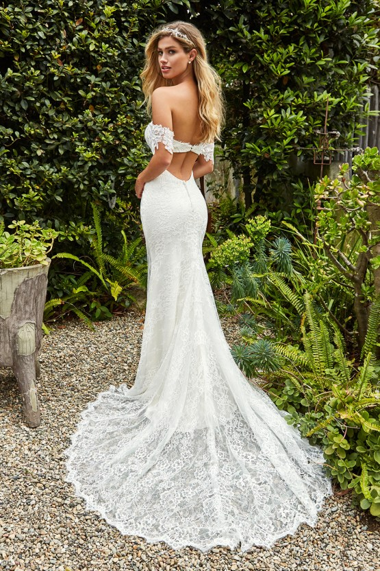 10 Stunning Wedding Dresses By Destination – Val Stefani Willow Dress 2