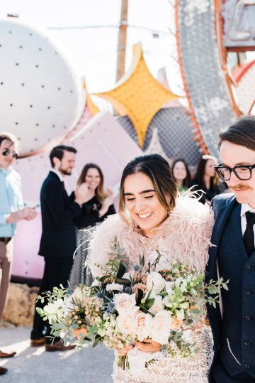 Hip and Colorful Las Vegas Neon Museum Wedding – Kristen Kay Photography 19