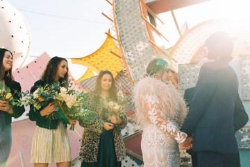 Hip and Colorful Las Vegas Neon Museum Wedding – Kristen Kay Photography 28