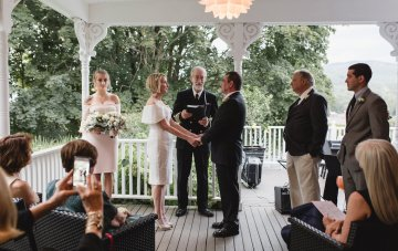 Intimate & Charming New England B&B Wedding
