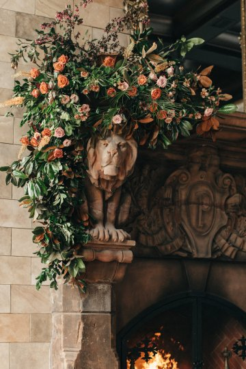 Luxe Mansion Wedding Inspiration Featuring Masculine Florals and Deep Tones – Alex Tenser – Swoon Soiree 32