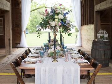 Rustic and Romantic Barn Wedding Inspiration – Boswick Photography 8