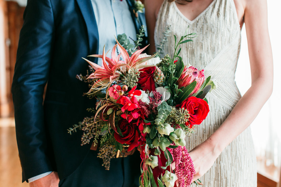 The Great Gatsby Art Deco Wedding Inspiration With Tropical Florals – Holly Castillo Photography 10