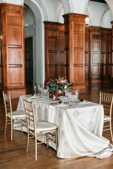 The Great Gatsby Art Deco Wedding Inspiration With Tropical Florals – Holly Castillo Photography 14