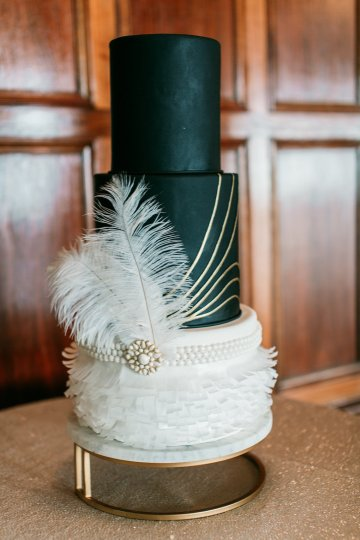 The Great Gatsby Art Deco Wedding Inspiration With Tropical Florals – Holly Castillo Photography 18