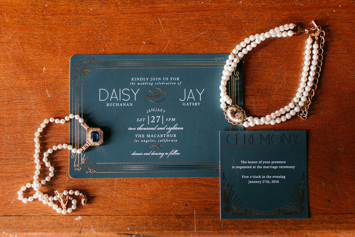 The Great Gatsby Art Deco Wedding Inspiration With Tropical Florals – Holly Castillo Photography 5