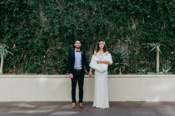 The Great Gatsby Art Deco Wedding Inspiration With Tropical Florals – Holly Castillo Photography 7