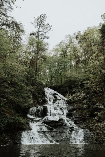 Woodland Waterfall Fairy-Tale Wedding – T and K Photography 29