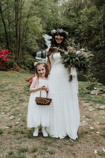 Woodland Waterfall Fairy-Tale Wedding – T and K Photography 32