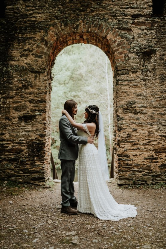 Woodland Waterfall Fairy-Tale Wedding – T and K Photography 33