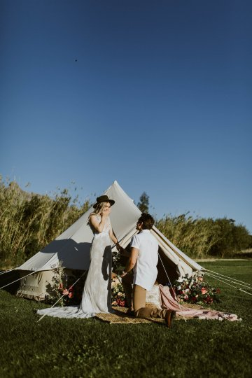 Bohemian Glamping Wedding and Proposal Inspiration – Lindie Wilton Photography 9