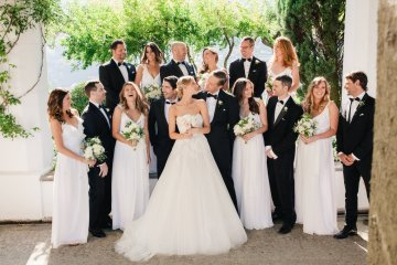 Breathtaking Cliffside Amalfi Coast Destination Wedding – Sandra Aberg 2