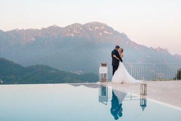 Breathtaking Cliffside Amalfi Coast Destination Wedding – Sandra Aberg 6
