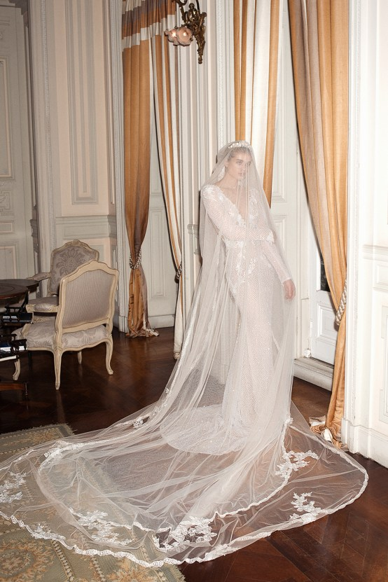 How To Look Like Royalty On Your Wedding Day – Galia Lahav Couture Dress Collection – ESTELLE + CHICA VEIL