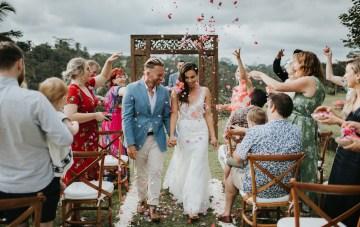 Intimate Balinese Jungle Villa Wedding
