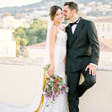 Lavish and Ethereal Greek Hotel Wedding Inspiration – Camilla Cosme Photography 19