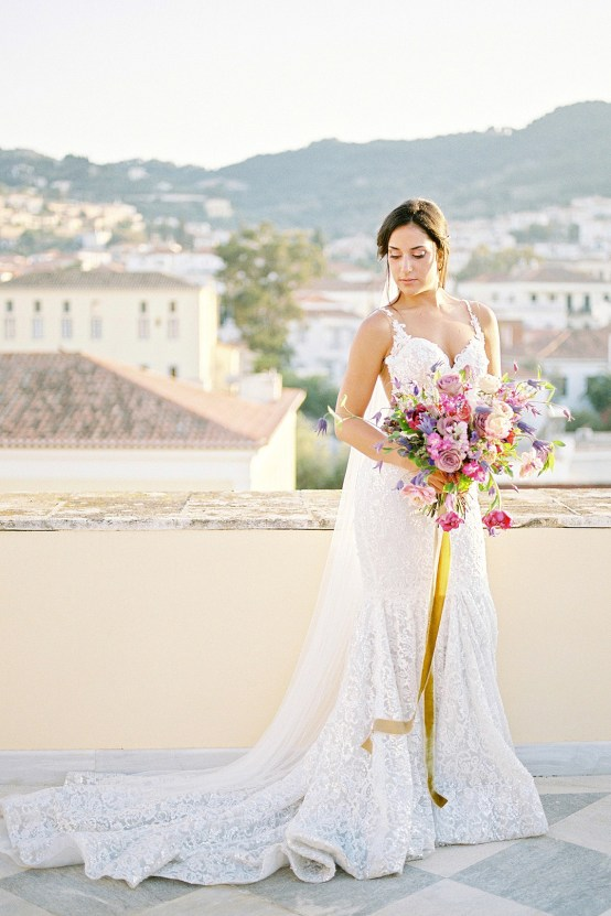 Lavish and Ethereal Greek Hotel Wedding Inspiration – Camilla Cosme Photography 25