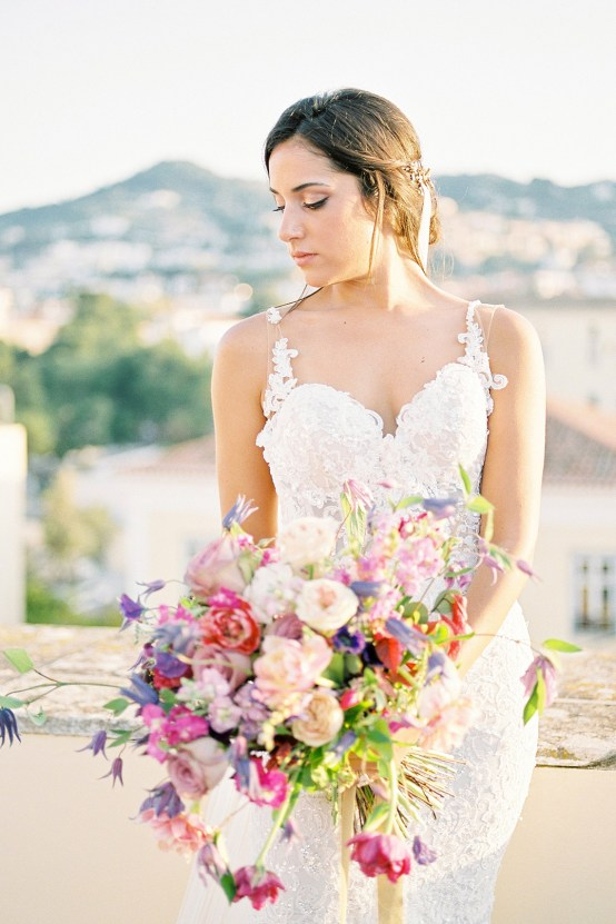 Lavish and Ethereal Greek Hotel Wedding Inspiration – Camilla Cosme Photography 26