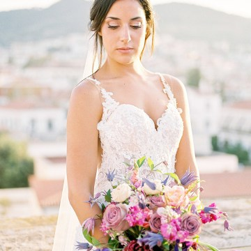 Lavish and Ethereal Greek Hotel Wedding Inspiration – Camilla Cosme Photography 27