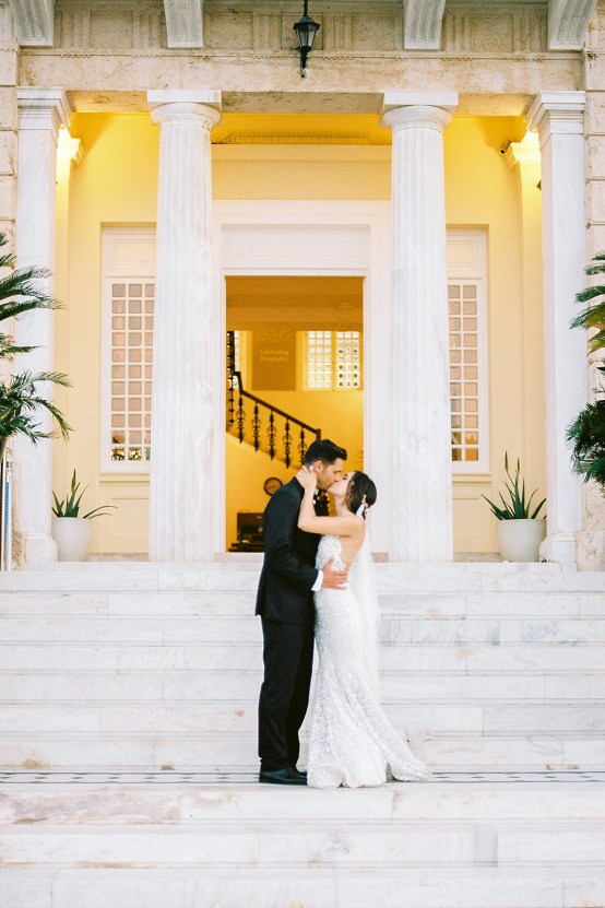 Lavish and Ethereal Greek Hotel Wedding Inspiration – Camilla Cosme Photography 31