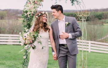 Country Chic Boho Wedding Inspiration