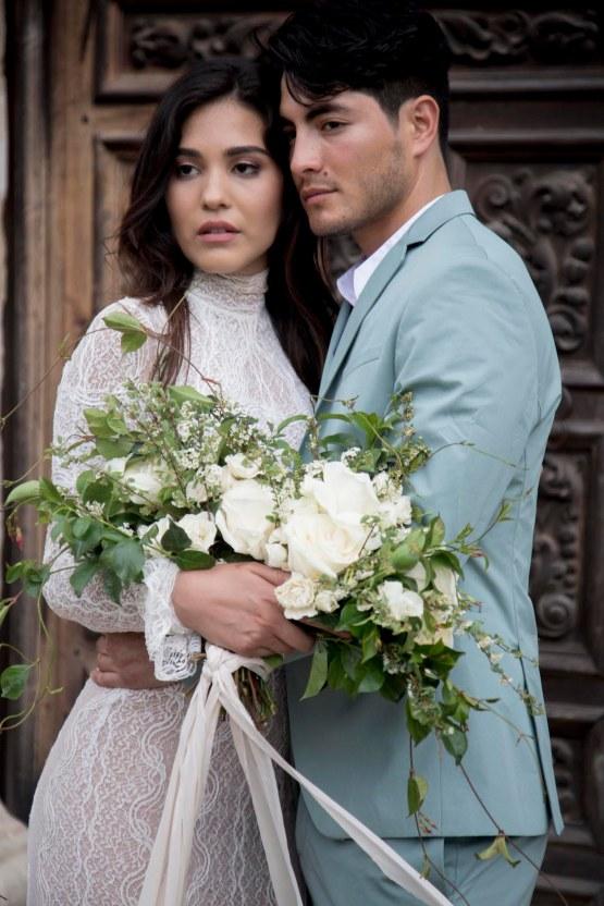 Spanish Lace and Old World Elegance Wedding Inspiration – Szu Designs 30