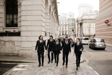 Swanky London Bank Wedding – Jessica Williams 1
