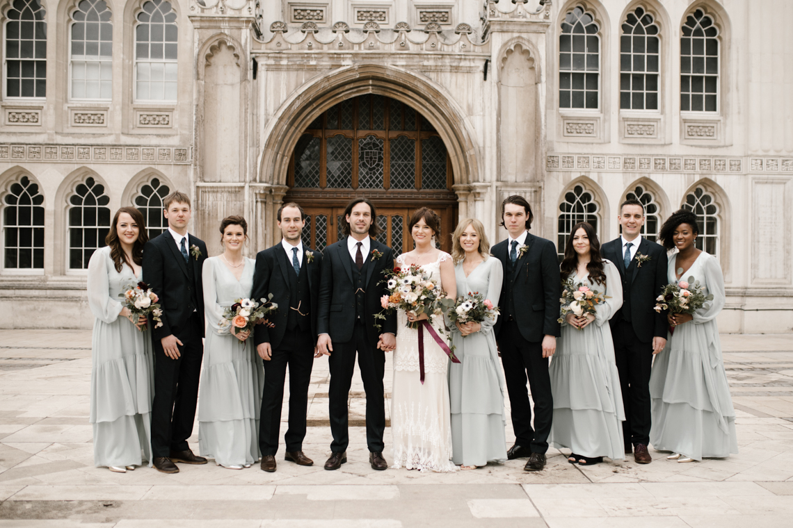 Swanky London Bank Wedding – Jessica Williams 4