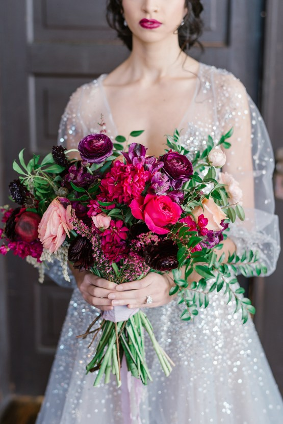 Whimsical Crimson and Green Holiday Wedding Inspiration – Stacy Able Photography 15