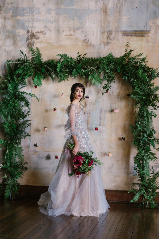 Whimsical Crimson and Green Holiday Wedding Inspiration – Stacy Able Photography 27
