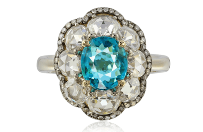 7 rare colored gemstone engagement rings every alternative