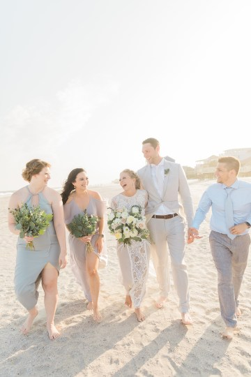 Intimate Southern Boho Beach Wedding in Charleston – Ava Moore Photography 48
